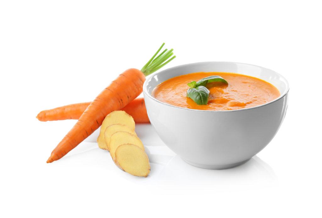 Karotten Ingwer-Suppe